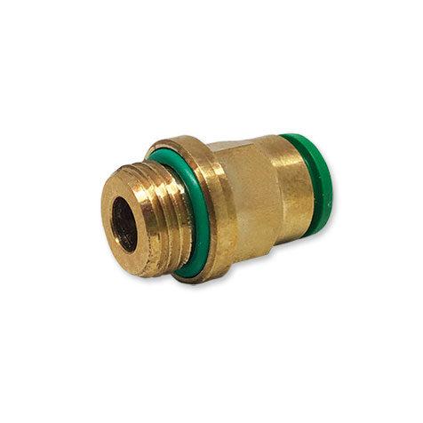 Diritto cilindrico maschio con O-Ring