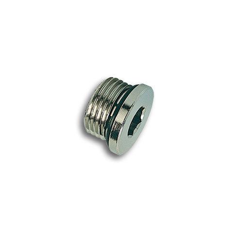 Tappo maschio cilindrico con O-Ring