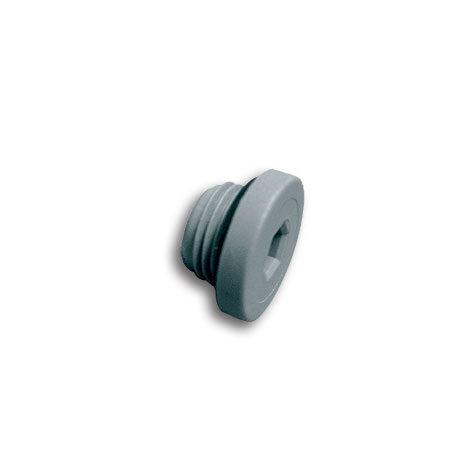 Tappo maschio cilindrico con OR (Tecnopolimero)